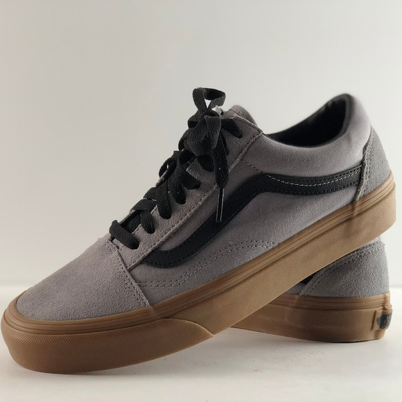 7ef335ad7adffc Vans Old Skool Gum Outsole Alloy Black